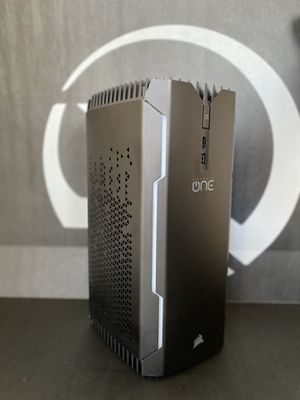Corsair One - Pro: 1080Ti Liquid Cooled - i7 7700k Liquid Cooled - 32GB DDR4 Ram - 480 GB SSD / 2TB HDD - Small Factor Gaming PC (NEW - see details) for Sale in Washington, DC