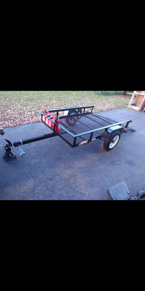 1700 lbs capacityTrailer with drop gate/ramp. Clean title. for Sale in Carol Stream, IL