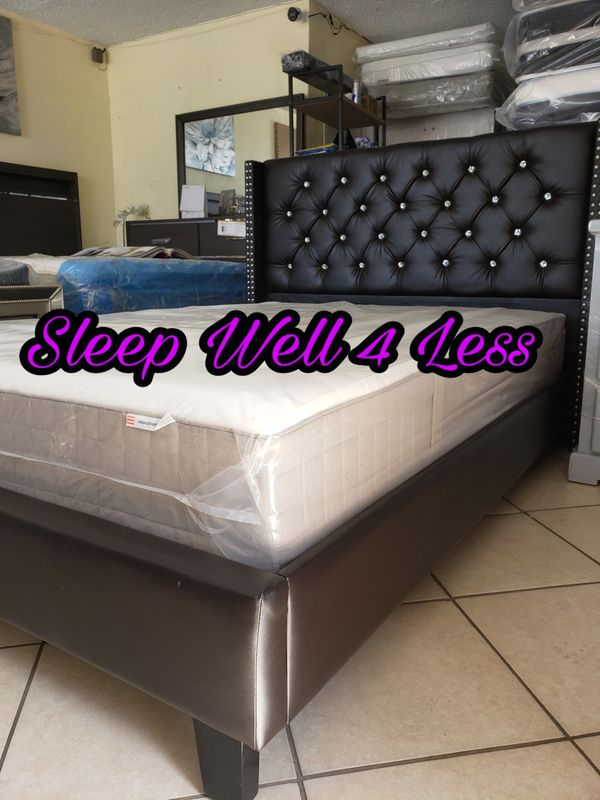 NEW💥QUEEN BED💥MATTRESS INCLUDED💥💥