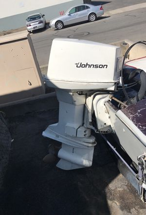 Johnson outboard motor for Sale in Huntington Beach, CA