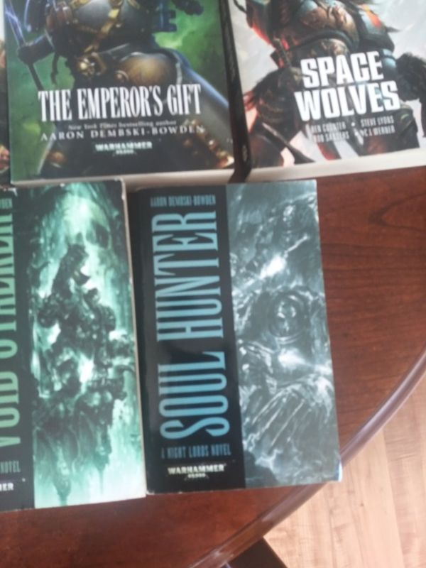 Warhammer 40k novels