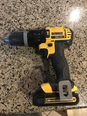 DeWalt Drill 20 volt model: DCD785 for Sale in Phoenix, AZ
