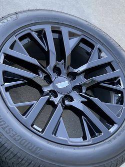 "22"" Cadillac Escalade Sport Platinum Wheels Rims Tires Rines OEM for Sale in Carson,  CA"