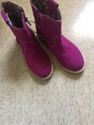 Fall boots size 13 girls for Sale in Baltimore, MD