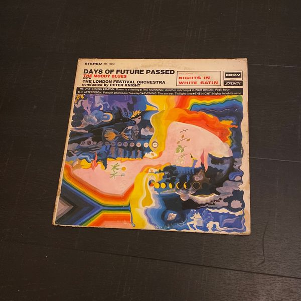 THE MOODY BLUES DAYS OF FUTURE PASSED VINYL