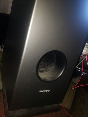 Onkyo powered subwoofer for Sale in Arlington Heights, IL