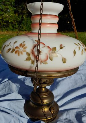 Converted Antique Brass Oil Lamp for Sale in Tampa, FL