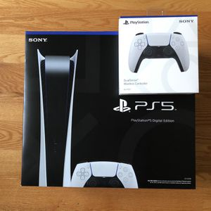 PlayStation 5 Digital with Extra Controller! for Sale in Seattle, WA