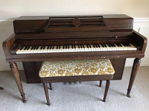 Wurlitzer Piano and Bench for Sale in Sammamish, WA
