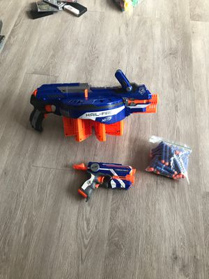 Set of Nerf gun with darts for Sale in Fort Lauderdale, FL