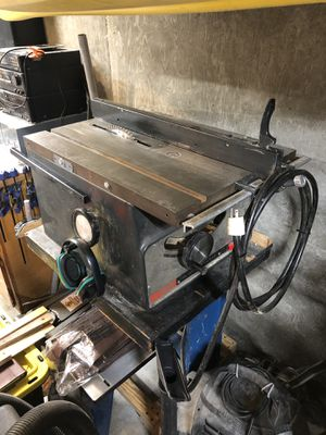 """Vintage Sears Craftsman 10"""" Table Saw with Stand for Sale in Beaverton, OR"""