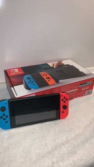 Nintendo Switch With Original Box and Charger. for Sale in Orlando, FL