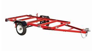 New Assembled Haul Master 4 X 8 Utility Trailer for Sale in Glendale, AZ