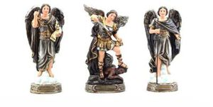 New 8 inch St Michael, St Gabriel, and St Raphael Archangels Statues Figurines for Sale in La Puente, CA
