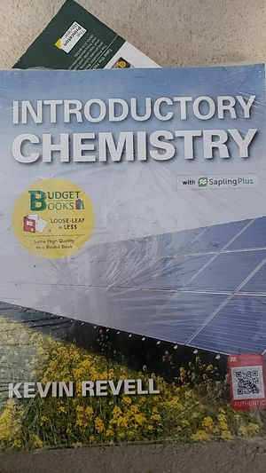Introductory Chemistry for Sale in Raleigh, NC