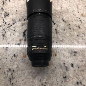 Nikon Camera Lens for Sale in Tampa, FL