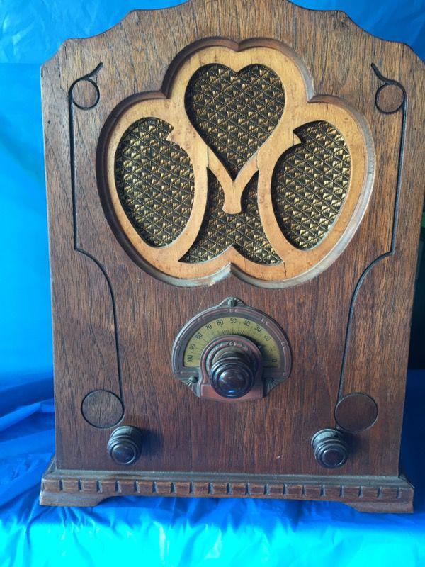 German antique radio