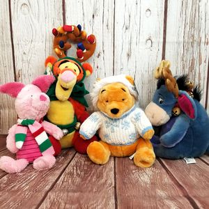 Disney Christmas Winnie The Pooh Plush for Sale in Roseville, CA