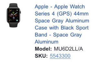 Apple Watch series 4 for Sale in McKees Rocks, PA