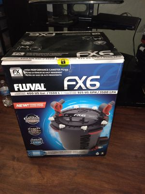 Aquarium Canister filter fluval fx6 for Sale in Phoenix, AZ
