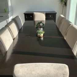 Dining Table 8 Chairs and Buffet for Sale in Huntington Beach,  CA