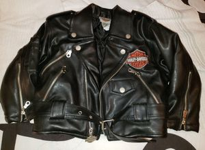 Kids Harley Davidson Motorcycle Jacket Sz. 4 for Sale in Denver, CO