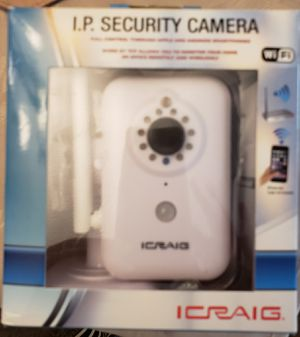 Security camera IP wifi for Sale in Garden Grove, CA