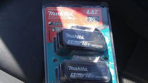 Makita Lxt 5.0 for Sale in Richmond, CA