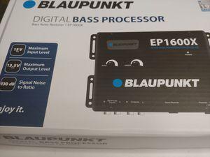 Car audio system : blaupunkt digital bass processor for Sale in Bell Gardens, CA