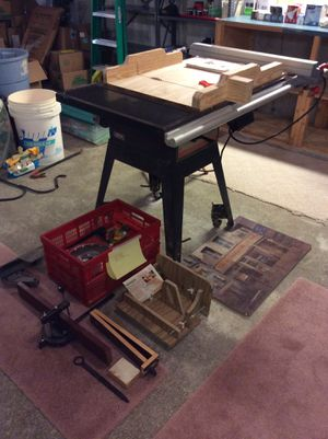 Craftsman 10 inch table saw plus numerous accessories for Sale in Taunton, MA