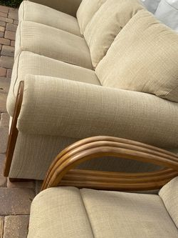 Sleeper sofa and recliner. Located in downtown St.Pete, FL. Pick up anytime. for Sale in Clearwater,  FL