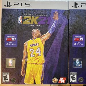 PS5 NBA 2K21 (Mamba Forever Edition) for Sale in Los Angeles, CA