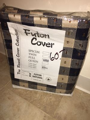 New Rare Beautiful Pattern Futon Cover Full Size for Sale in Cleveland, OH