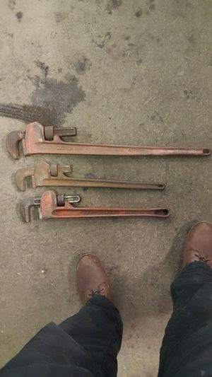 Pipe wrenches for Sale in Middletown, NJ