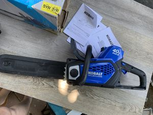 14 inch Kobolt brushless chainsaw 40v max for Sale in Las Vegas, NV