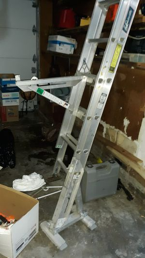 2 Qual-craft aluminum silver ladder jack for Sale in Kansas City, MO