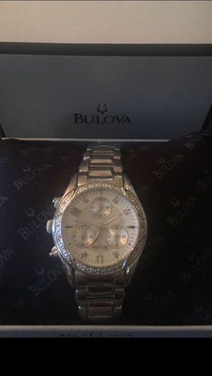 New with tags 21 Diamonds BULOVA women's watch Received as gift and did not want to ask for the receipt to exchange. retail is $525.00 no low ball for Sale in Los Angeles, CA