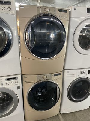 $699 Kenmore washer and dryer set with delivery in the San Fernando Valley a warranty and installation for Sale in Los Angeles, CA