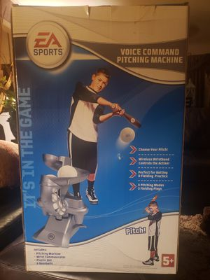 EA Sports Voice Command Pitching Machine for Sale in Tyler, TX