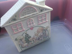 """Precious Moments """"May Your Christmas Be A Happy Home"""" MUSICAL for Sale in Brentwood, NC"""