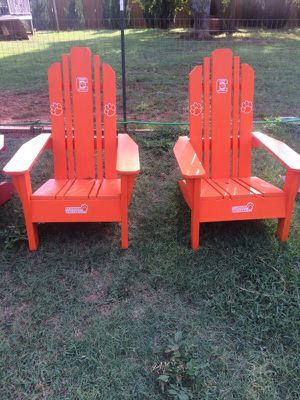 Clemson Adirondack chairs for Sale in Charlotte, NC