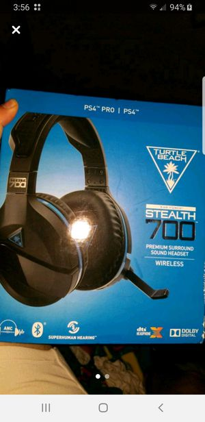 Ps4 Wireless Headset BRAND NEW NEVER OPENED for Sale in Murrieta, CA