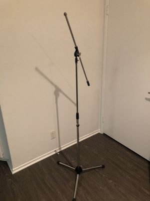 Mic stand. Boom steel for Sale in Los Angeles, CA