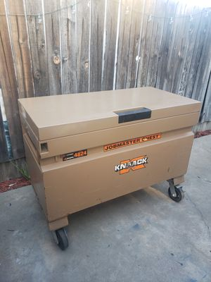 Knaack box work box jobmaster chest tool box for Sale in Downey, CA