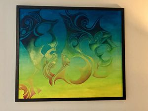 Original framed painting 3'x3' for Sale in Portland, OR
