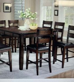 6pcs Counter Hight Dining Table Brand New Price Dirm for Sale in Ontario,  CA