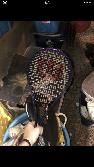 tennis racket new with case for Sale in San Diego, CA