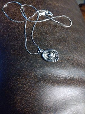 Sterling silver baseball glove charm necklace for Sale in Dallas, TX