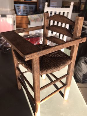 """Decoration only!! Booster seat for doll or stuffed animal- 12"""" tall for Sale in San Jose, CA"""