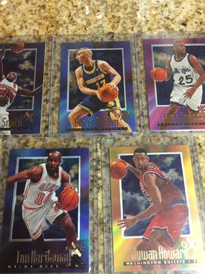 Baseball, Basketball cards 5 Ex 2000 $8 for Sale in Harbor City, CA